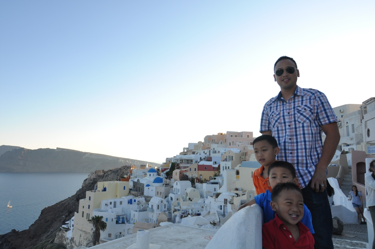 """Santorini IS NOT a Place For Kids"""