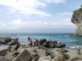 A Beach on Apo Island