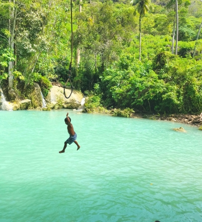 Tarzan Swing in Siquijor